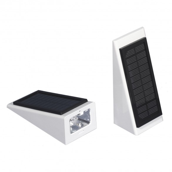 LMT-1893 Galaxy Ornamental Solar Wedge Accent Light (White Shown For Example)