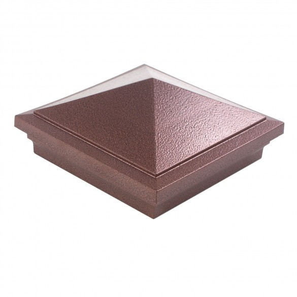 LMT-1504AC 6X6 Haven Post Cap - Antique Copper
