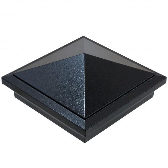 6X6 Haven Post Cap - Hammertone Black