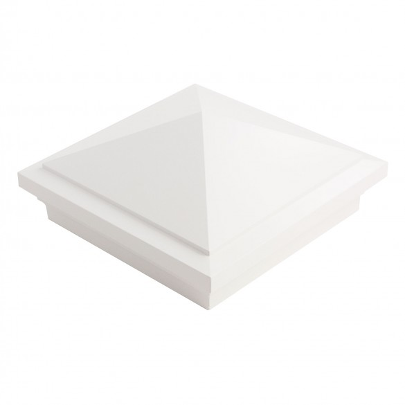 6X6 Haven Post Cap - White