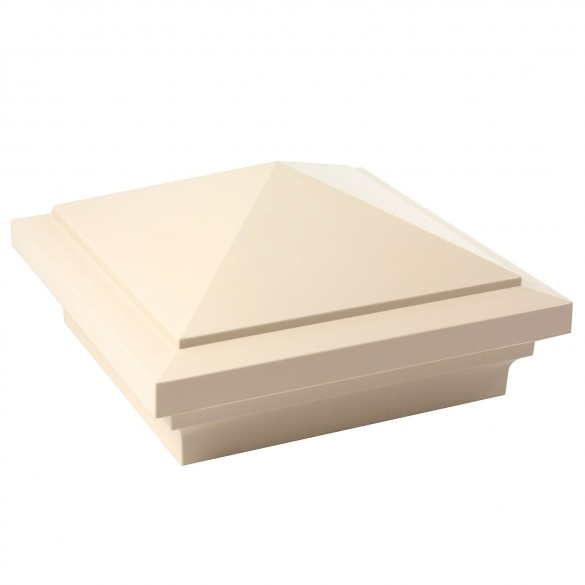 "4.5"" sq Haven Vinyl Post Cap - Beige"
