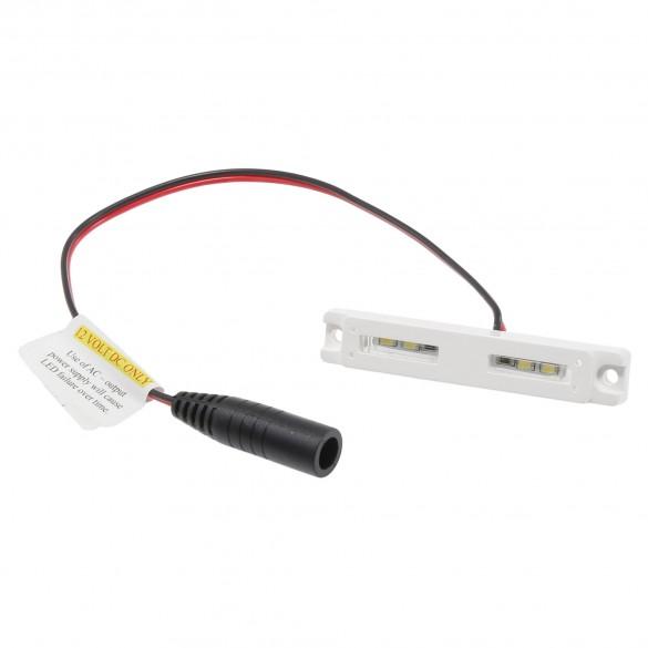 """LMT-1649W-5K 3"""" Low Voltage LED Under Rail Light - White"""