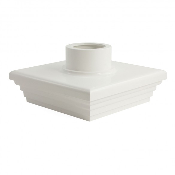 """LMT A-55LC 5"""" Adapter Cap (White)"""