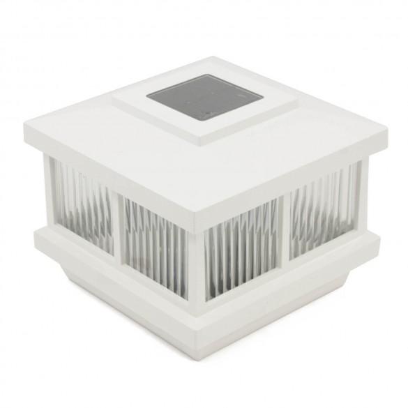 "5"" Cambridge Solar Accent Light - White"