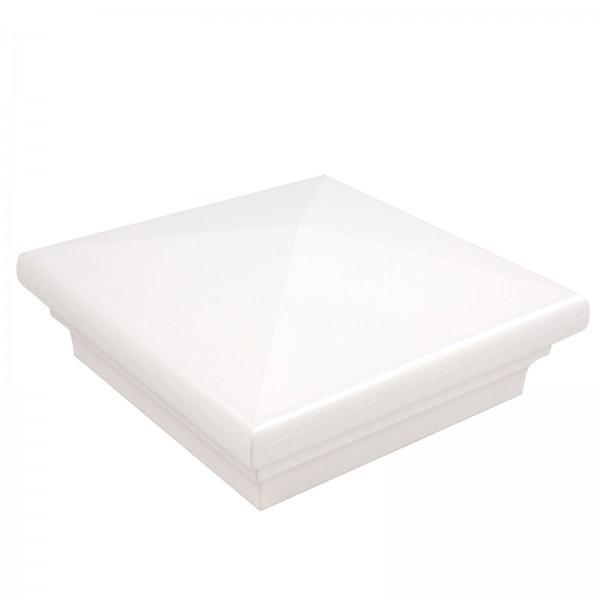 White Neptune Vinyl Post Cap LMT 1567W