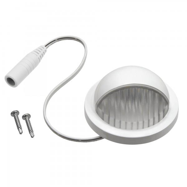 Scalloped Dome Side Light - LMT 1680 (White Shown)