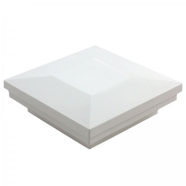 Ornamental Downward Low Voltage Post Cap (White)
